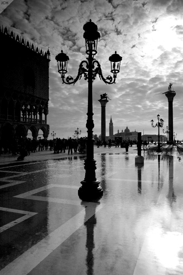 Voda na náměstí svatého Marka