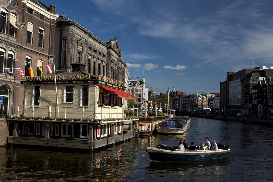 Kanály vAmsterdamu