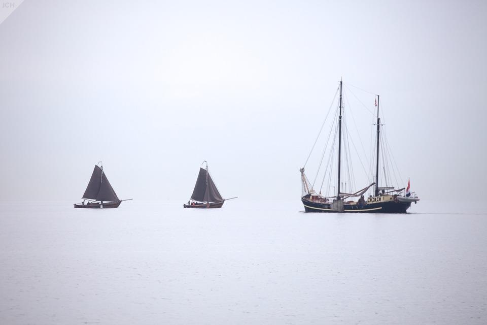 Plachetnice na Markemeer