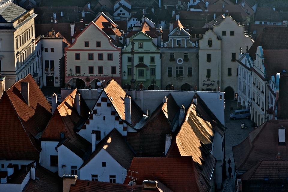 Krumlovské střechy