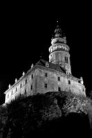 Zámecká věž vnoci