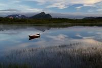Jezero za svítání