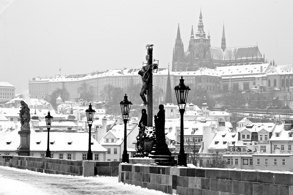 Kalvárie aPražský hrad