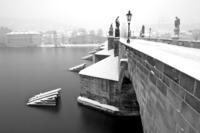 Pilíře Karlova mostu
